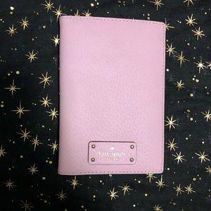 NWT Kate Spade ♠️ Lilac passport cover